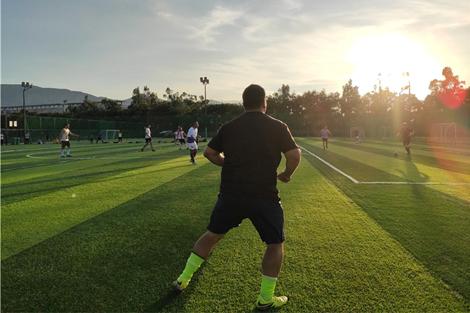 """""""Latino FC"""" ทีมฟุตบอลชาวต่างชาติในเมืองคุนหมิง"""