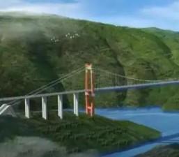 งดงามมาก ภาพสะพานขนาดใหญ่หงเหอ สูงเท่าตึก 61 ชั้น