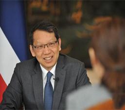 """ทูตไทยประจำจีนระบุ ข้อริเริ่ม """"หนึ่งแถบ หนึ่งเส้นทาง"""" ทำให้ไทย-จีนมีอนาคตความร่วมมือกว้างขึ้น"""