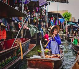ความสัมพันธ์อันลึกซึ้งของตลาดน้ำไทยอายุกว่าร้อยปีกับประเทศจีน