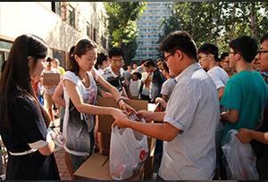 กิจกรรมดูแลใส่ใจนักศึกษาที่พักอาศัยในมหาวิทยาลัยช่วงตรุษจีน