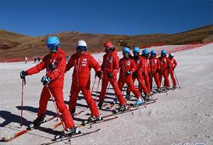 ภูเขาฮุ่ยเจ๋อต้าไห่ฉ่าว ลานเล่นสกีที่สนุกสุดเหวี่ยง