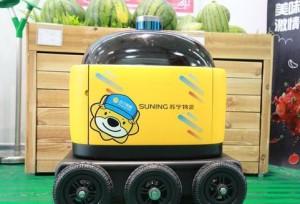 ร้านเครื่องไฟฟ้าออนไลน์ชื่อดัง Suning.cn เริ่มใช้รถไร้คนขับส่งของในระยะ 3 กิโลเมตร