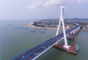 จีนเปิดใช้สะพานข้ามทะเลต้านแผ่นดินไหวแห่งแรก