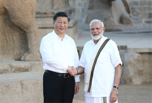 ปธน.จีนพบนายกฯ อินเดีย