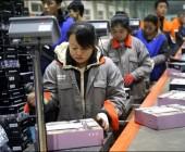 อัตราการเติบโตของกิจการส่งพัสดุด่วนโลกมีร้อยละ 40 มาจากจีน