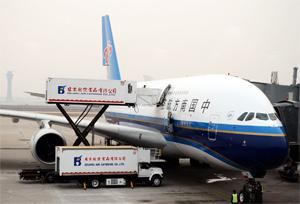 ตลาดขนส่งทางอากาศของจีนมีตัวเลขโดยรวมเพิ่มขึ้นในเดือนตุลาคม