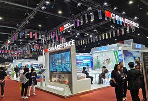 จีนเข้าร่วมนิทรรศการอุปกรณ์ป้องกันประเทศ 2019 ของไทย