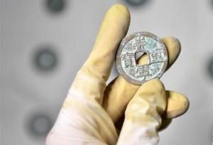 พบเหรียญโบราณกว่า 400 กก.ที่มณฑลเหอเป่ย