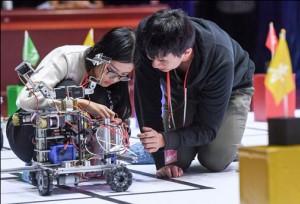 ม.วิทยาศาสตร์และเทคโนโลยีแห่งประเทศจีนจัดการแข่งขันหุ่นยนต์