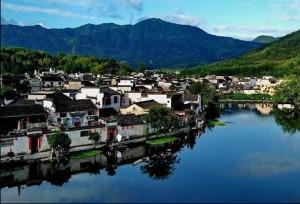 ความงามหมู่บ้านโบราณในมณฑลอันฮุย