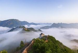 ความสง่างามของกำแพงเมืองจีนช่วงด่านหวงหยา