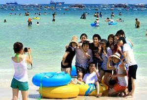 ยังเหนียวแน่น!นทท.จีน 8 แสนกว่าคนเดินทางเที่ยวเมืองไทยเมื่อเดือนที่แล้ว