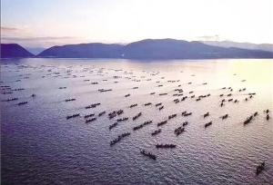 ทะเลสาบซิงหยุนเปิดให้ตกปลาแล้ว ไปทานปลาตัวใหญ่ที่เจียงชวน มณฑลยูนนานกันเถอะ