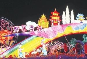 โคมไฟนับล้านล้านดวงสว่างสไวภายในสวนนิทรรศการพืชสวนโลกคุนหมิง